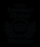 Tripadvisor Traveller's choice badge